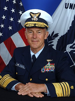 Commandant of the Coast Guard - Image: Zukunft June 2014