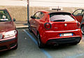 """14 - ITALY - Alfa Romeo MiTo QV - red coupé in Milan - Quadrifoglio Verde sports car 02.jpg"