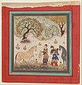"""""""Rustam Captures Rakhsh"""", Folio from a Shahnama (Book of Kings) MET DP215839.jpg"""