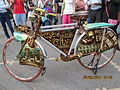 'Cycle Model' at Kala Ghoda Festival..JPG