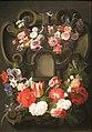 'Garland of Flowers' by Jan Fyt, Dayton Art Institute.JPG