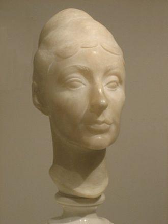 Gaston Lachaise - Georgia O'Keeffe (marble), 1927, Metropolitan Museum of Art
