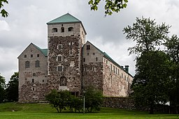 Slottets vestlige facade