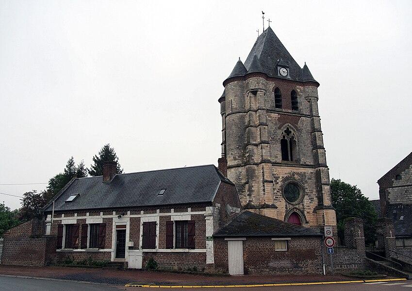 Église Saint-Rémy de Nouvion-et-Catillon,  (Classé, 28 mai 1927)