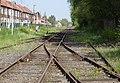 État de la section de Saint-Saulve à Blanc-Misseron de la ligne de Douai à Blanc-Misseron au 16 avril 2014 (124, gare d'Onnaing).JPG