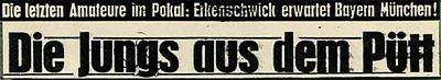 Überschrift Bayern 1967
