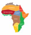 Āfrikas kutlūras reģioni pēc M.Dž.Herskovita klasifikācijas.png