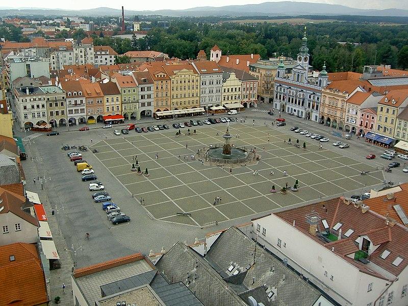 File:České Budějovice Square.jpg
