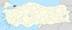 İstanbul (1st electoral district) - Image: İstanbul (I) in Turkey