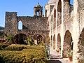 Внутренний двор испанской католической миссии в Сан-Антонио.JPG