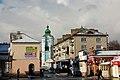Дзвіниця Францисканського монастиря з вулиці. Кременець.jpg