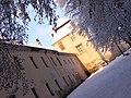 Жовква. Замок Жолкевських взимку.jpg