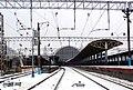 Киевский вокзал в Москве (вид со стороны станции)..JPG