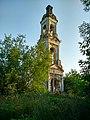 Комсомольский р-н, Писцово, колокольня Воскресенской церкви, вид 2.jpg
