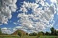 Небо над терриконом шахты Кировская - panoramio.jpg