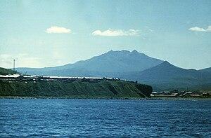 Iturup - Image: Остров Итуруп. Вулкан Баранского