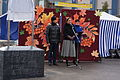 О.В. Качайник, дочь Валентина Васильевича Мурко, на открытии памятной доски на площади В.В. Мурко.JPG