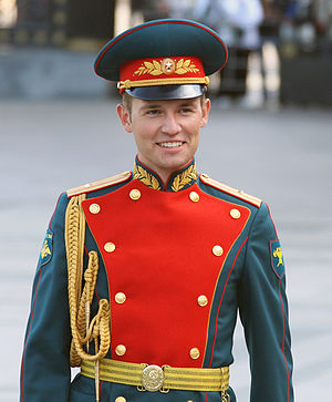 Special Exemplary Military Band of the Guard of Honor Battalion of Russia - The commander of the band from 2009 to 2015, Konstantin Petrovich.