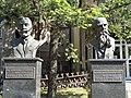 Свјетлопис биста Војислава Суботића и Милана Јовановића Батута у Биограду.jpg
