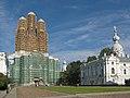Смольный собор на реставрации.jpg