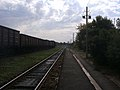 Станція Красногорівка, вид з перону в напрямі станції Рутчнекове.jpg