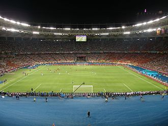 UEFA Euro 2012 Final - The Olympic Stadium in Kiev hosted the final