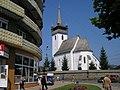 Хуст, Лютеранский храм св. Елизаветы, Закарпатье, 2010 - panoramio.jpg