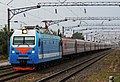 ЭП1М-628 с пассажирским поездом, ст. Мышастовка.jpg