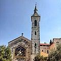 חזית כנסיית הבשורה ומגדל הפעמונים.JPG
