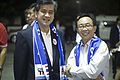คุณ อภิรักษ์ โกษะโยธิน และ รมต.สาทิตย์ วงศ์หนองเตย - Flickr - Abhisit Vejjajiva.jpg