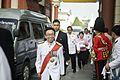 ภาพบรรยากาศ ขณะนายกรัฐมนตรีและภริยา ลงนามถวายพระพรชัยม - Flickr - Abhisit Vejjajiva (2).jpg