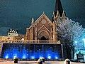 ベルヴィ郡山 聖ステーラ教会(夜).jpg