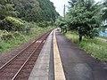 但馬三江駅(コウノトリの郷駅) ホーム - panoramio.jpg