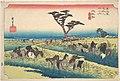 東海道五十三次之内 池鯉鮒 首夏馬市-Chiryu, Shuka Uma Ichi MET DP122220.jpg