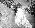 01641Grand Canyon Historic Kaibab Trail Trail Foreman in Snow (6970023407).jpg