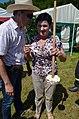 02014 Buttern mit Butterfass auf dem Bauernfest in Rudawka Rymanowska.JPG
