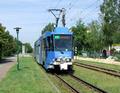 028 tram 135 departing Neue Straße.png