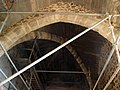 051 Castell de Montsoriu, interior del cos de guàrdia.jpg