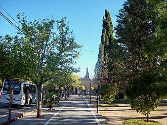 Nono, Córdoba - The street Vicente Castro in the central square I gave Nono.