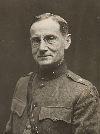 Edwin Burr Babbitt - Edwin Babbitt as a brigadier general in 1918