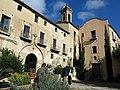 113 Sant Jeroni de la Murtra, façana sud i capella de Sant Sebastià.JPG
