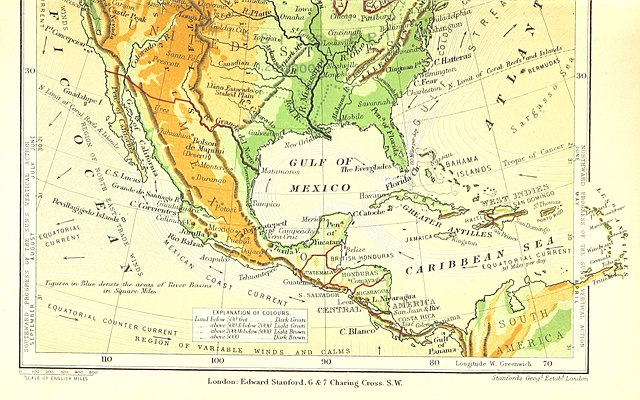 File 11 Of Notes On The Geography Of North America Physical And Political With Coloured Physical Map 11102170686 Jpg Wikimedia Commons