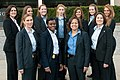 11 of the 12 female special agents serving on Diplomatic Security's protective detail for Hillary Rodham Clinton.jpg