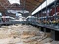 129 Mercat del Born, excavacions arqueològiques de la Ribera.JPG