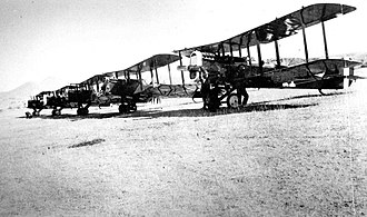 12th Reconnaissance Squadron - 12th Aero Squadron at Camp Little near Nogales, Arizona on Mexican Border patrol duty, 1920