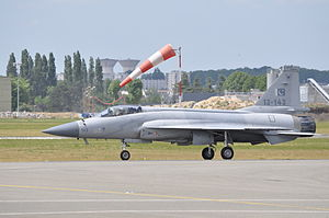 CAC/PAC JF-17 Thunder - JF-17 at the Le Bourget Airport for the Paris 2015 Airshow