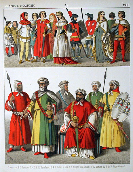 File:1300, Spanish, Moorish. - 041 - Costumes of All Nations (1882).JPG