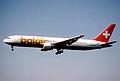 132bs - Balair Boeing 767-3G5ER; HB-IHV@ZRH;12.05.2001 (5256728299).jpg