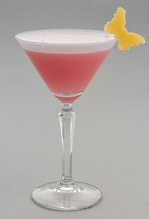 Pink Lady (cocktail) - Pink Lady