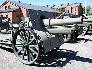 Canon de 155 C modèle 1917 Schneider